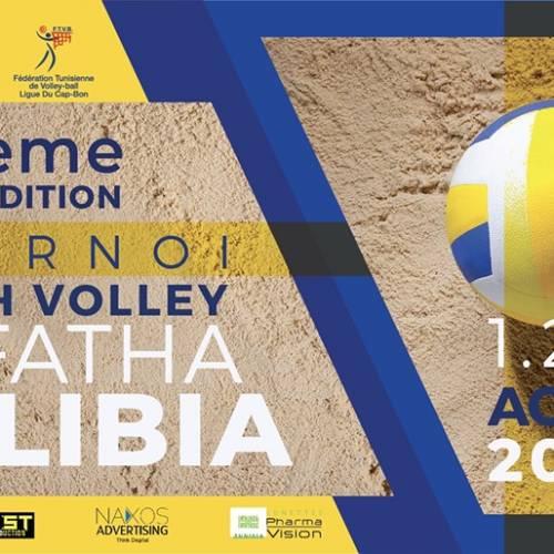 22 ème édition du Tournoi de Beach Volley eL Fatha à Kélibia