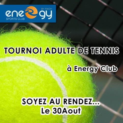 Tournoi Adulte De Tennis