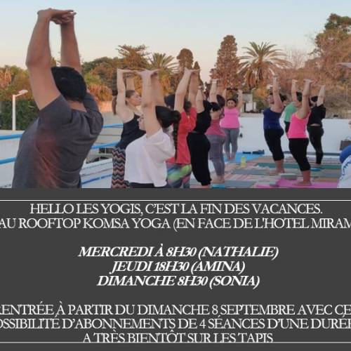 Séance Yoga du matin