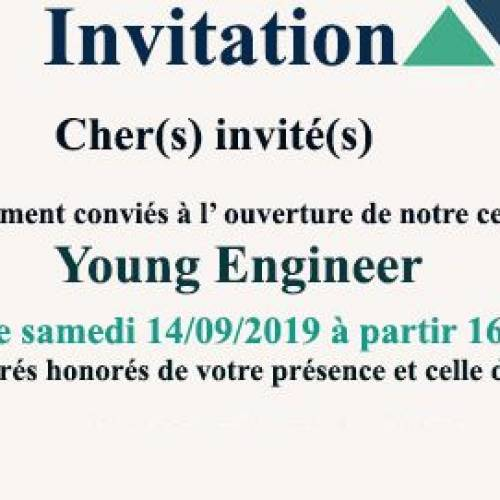 Ouverture Club Young Engineer
