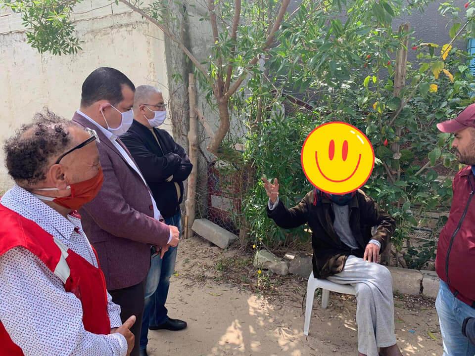 نابل: زيارة لمنزل أحد المسنين