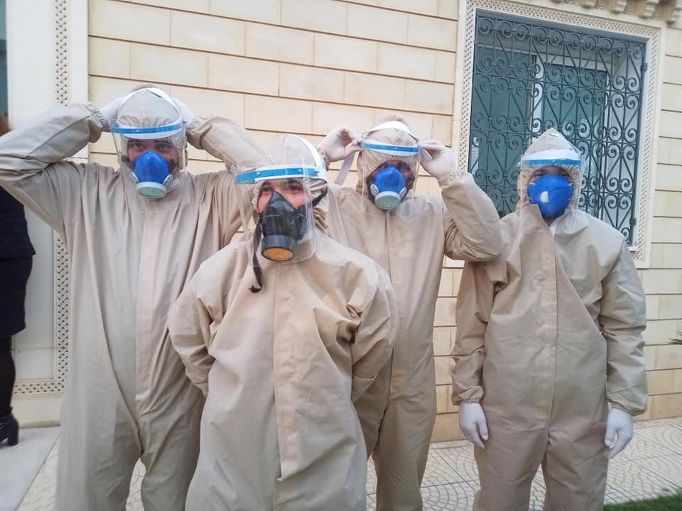 نابل: حملات تنظيم وتعقيم لمجابهة فيروس كورونا